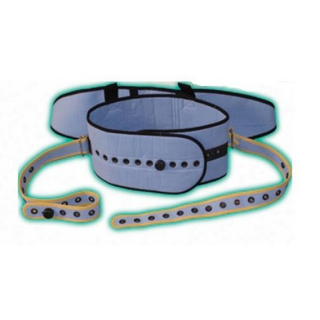 Ceinture adbominale avec sangle pelvienne contention pinel medical