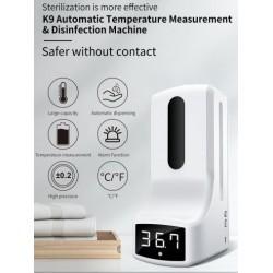 Spender für Desinfektionsflüssigkeit mit elektronischem Sensor 1 L.
